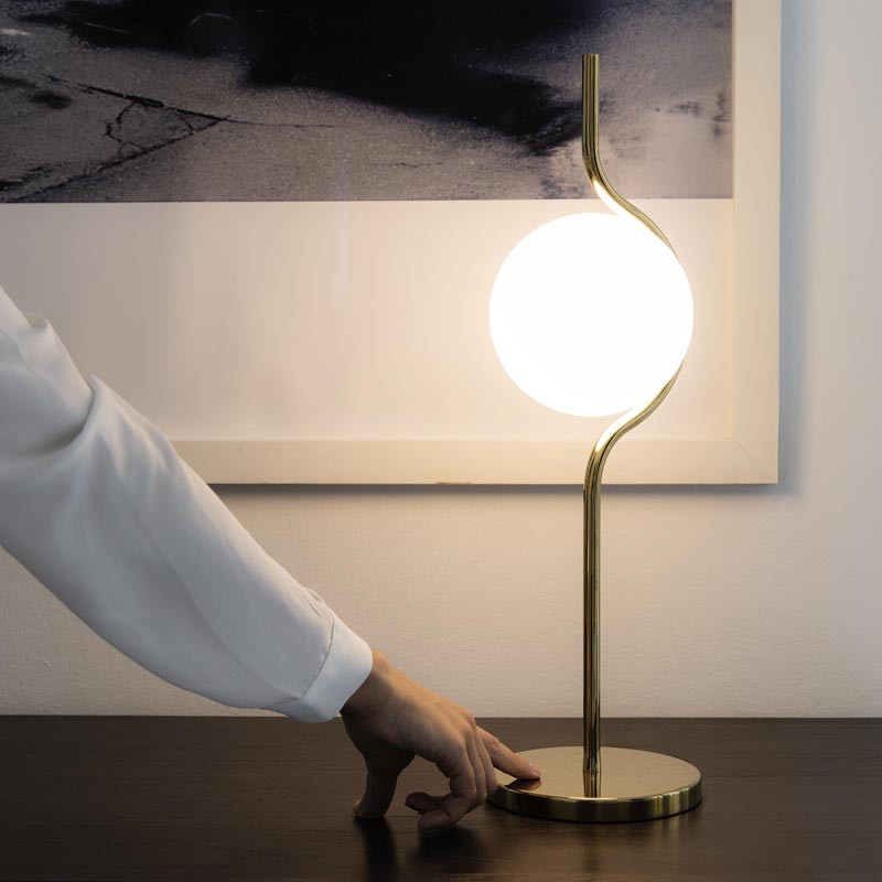 gold touch table lamp