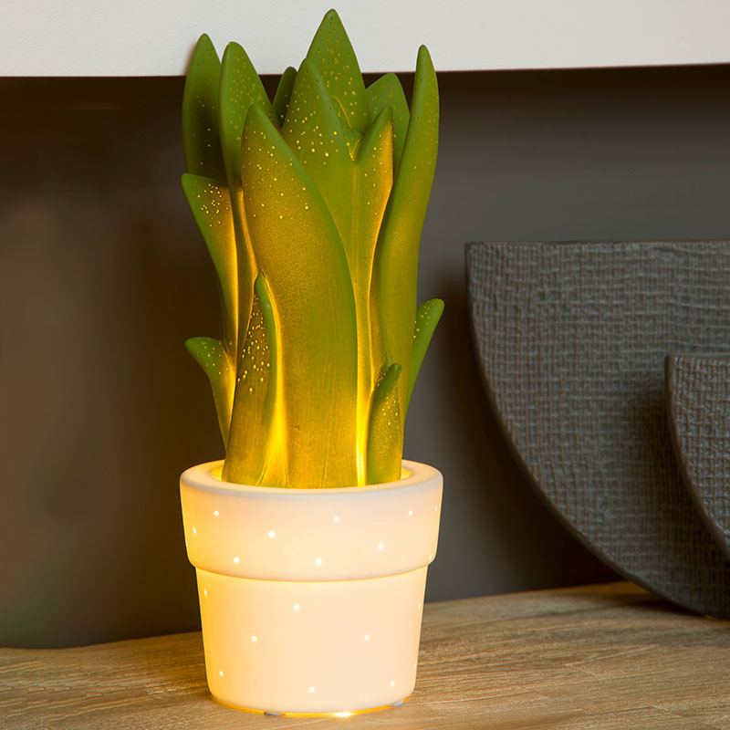 Green Plant Lamp