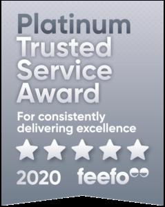 platinum trusted service award
