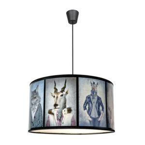 Edit Animal Portrait Easy Fit Ceiling Pendant Shade from Lighting Direct