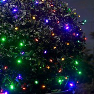 50 Outdoor Multi Colour LED Solar String Lights