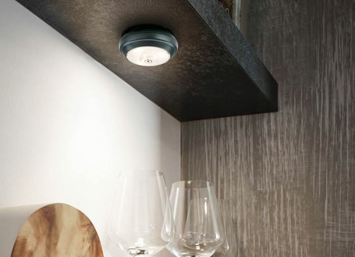 surface mounted battery powered cabinet downlights