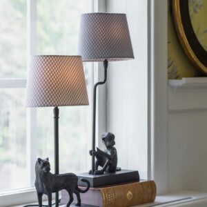 warm light living room table lamp
