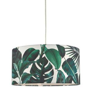 tropical pendant light printed