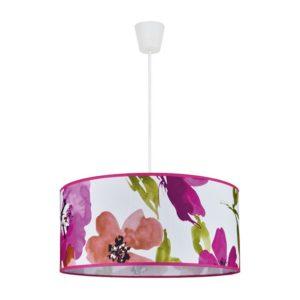 floral pendant shade light