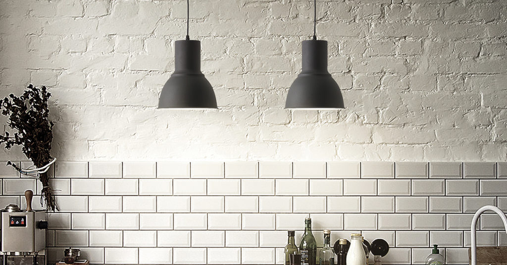 industrial pendant lights task kitchen style