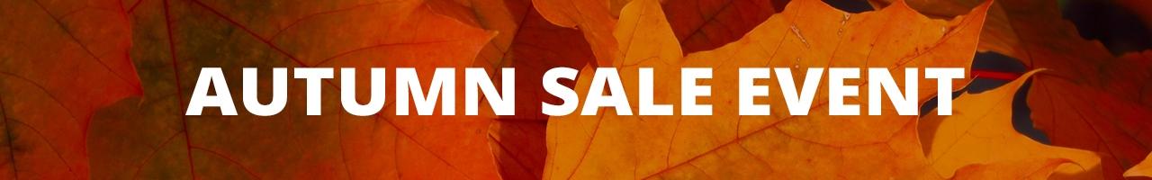 Autumn Sale Event, indoor and outdoor lighting