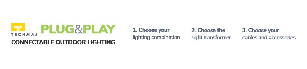 Plug & Play Outdoor Lights