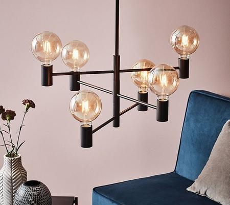 stylish ceiling lights by Scandinavian lighting manufacturer Markslojd