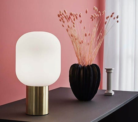 stylish table and floor lamps by Scandinavian lighting manufacturer Markslojd