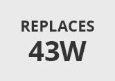 Philips ExpertColour 7.5W Warm White 3000k Dimmable LED MR16 Bulb - Flood Beam
