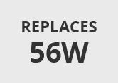 Integral 5.5W Warm White Dimmable LED GU10 Bulb - Flood Beam