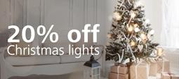 20% Off Christmas Lights