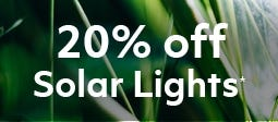 20% Off Selected Cole and Bright Solar Lights