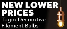 New Lower Prices on Tagra LED Decorative Filament Bulbs