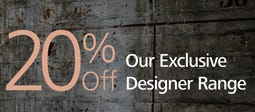 20% Off Selected Exclusive Designer Lighting