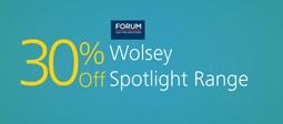 30% Off Wolsey Spotlight Range