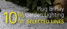 10% Off Selected Plug and Play Lights