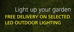 Free Delivery On Selected LED Outdoor Lights