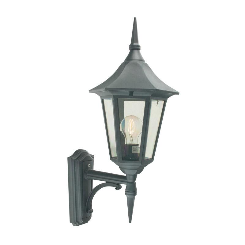 Black Lantern Wall Lights : Lighting SALE on Norlys Valencia Outdoor Lantern Wall Light - Black - Norlys 25632