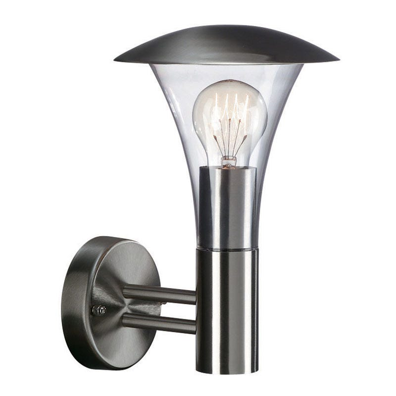 Philips Beaumont Stainless Steel Outdoor Wall Light