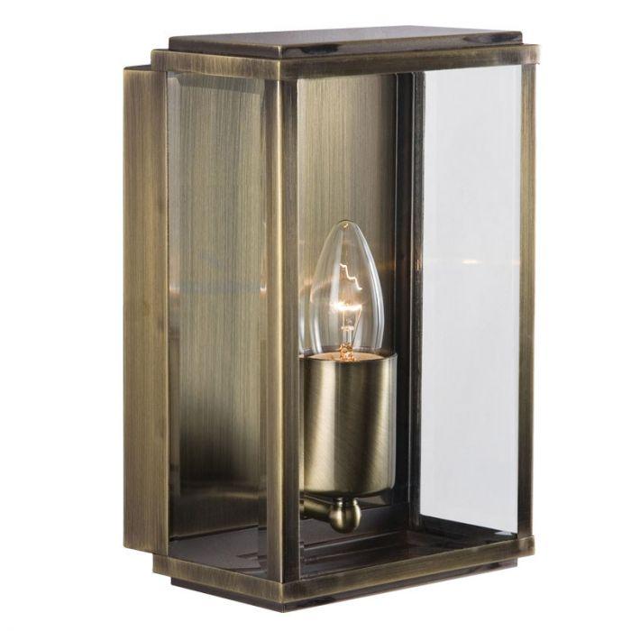 Searchlight Swinford Porch Lantern  Antique Brass