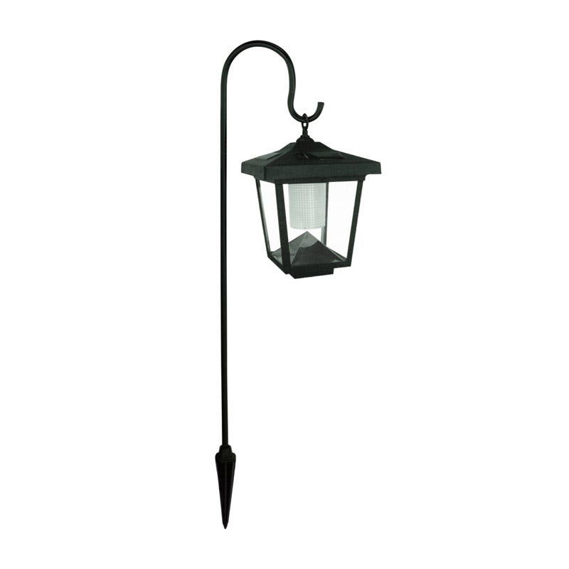 Solar Hanging Lantern With Crook  Single