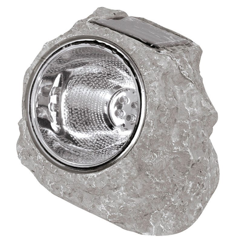 Solar Rock Light - Set of 4