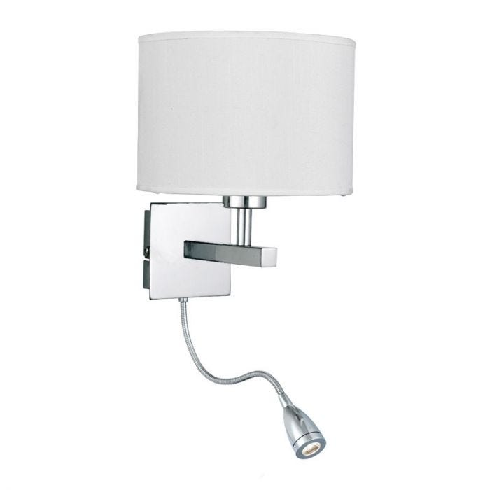 Lighting Searchlight Anzere Reading Light - Polished Chrome