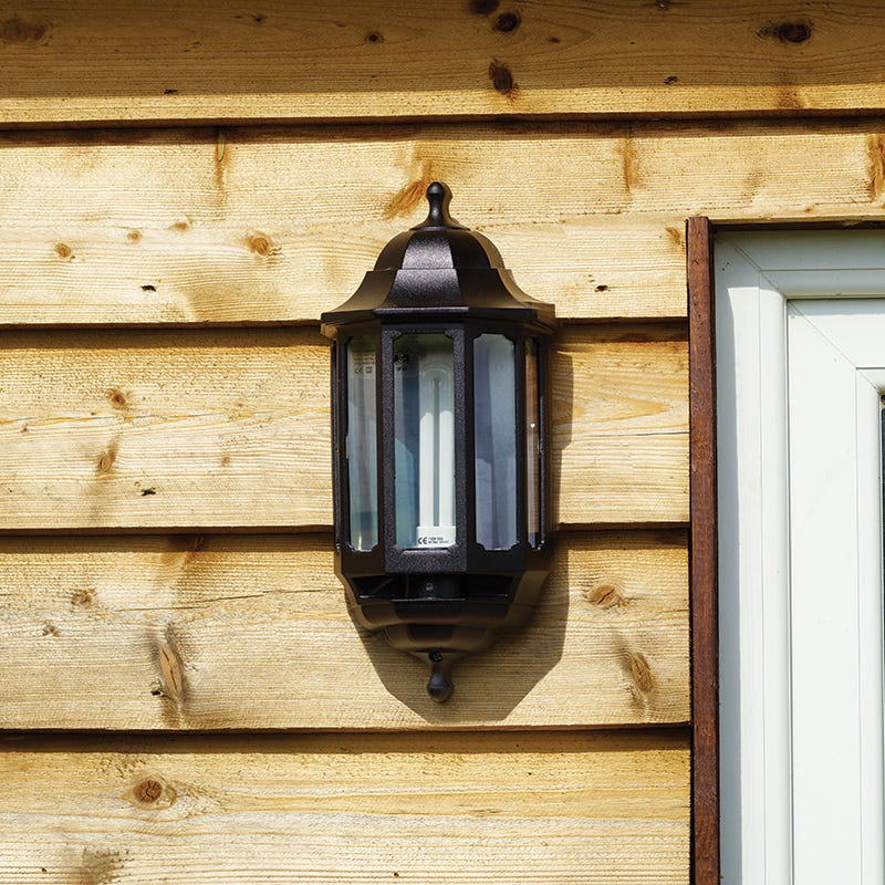 Low Energy Outdoor Wall Lights : SALE on ASD Lighting Coach Low Energy Half Lantern Outdoor Wall Light - ASD. Now Available our Best
