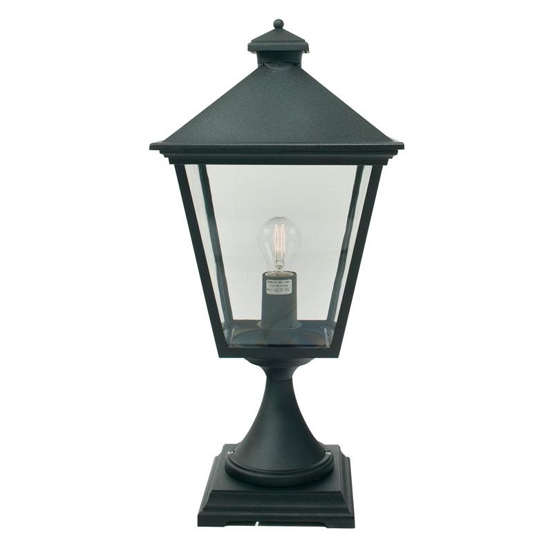 Norlys Turin Outdoor Pedestal Light - Black