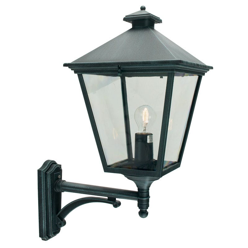 Norlys Turin Grande Outdoor Lantern Wall Light - Verdigris