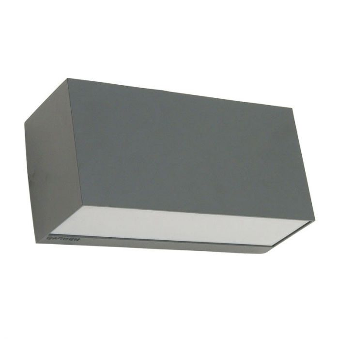 Norlys Asker Outdoor Up & Down Wall Light - Graphite