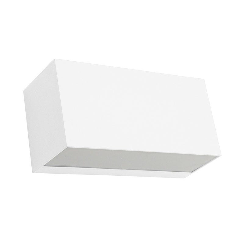 Norlys Asker Outdoor Up & Down Wall Light - White