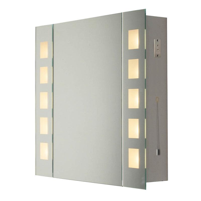 Dar Zenia Illuminated Mirror Cabinet