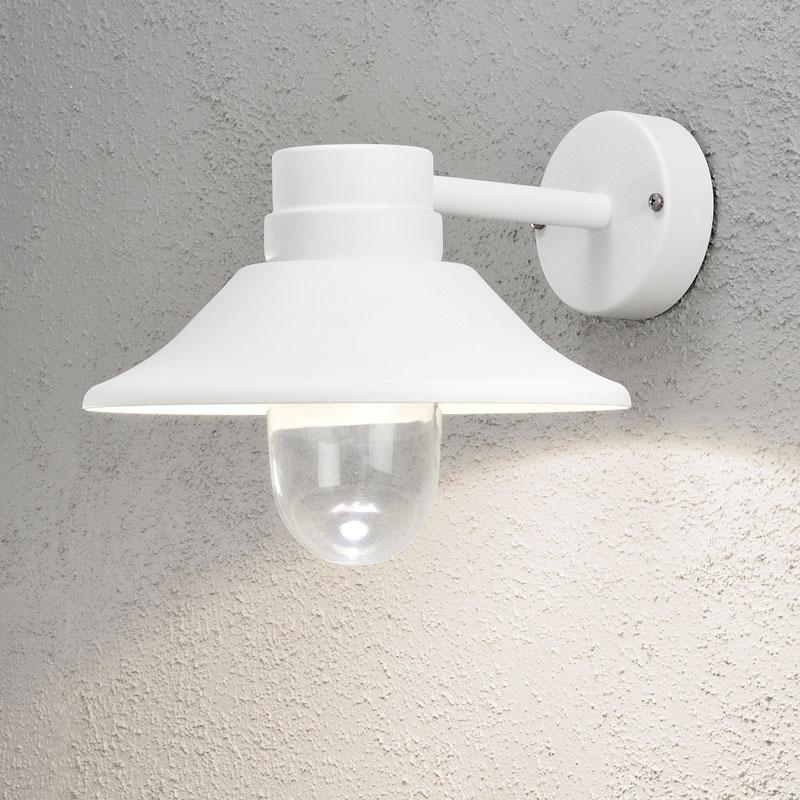 Vega Wall Lamp Black Led 5w : Konstsmide Vega LED Outdoor Wall Light Matt Black Best Price from Lyco