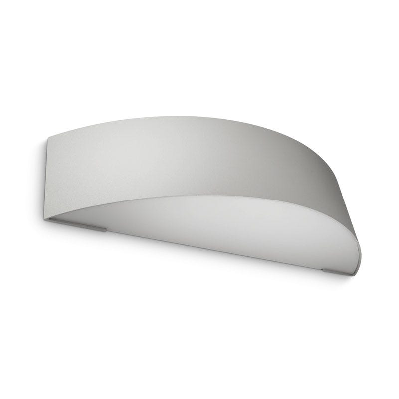 Philips Patch Outdoor Wall Light - Grey