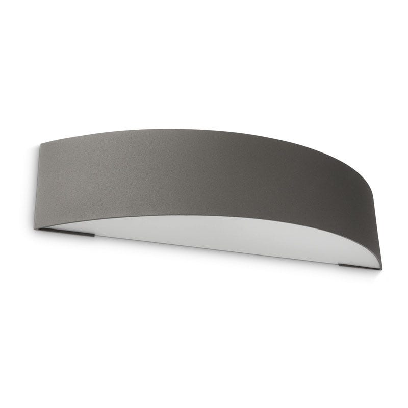 Philips Patch Outdoor Up & Down Wall Light - Anthracite
