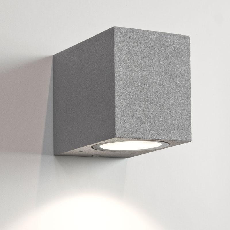 Astro Chios 80 Outdoor Wall Light - Silver