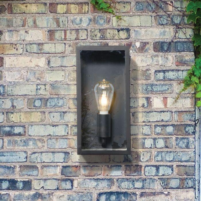 Forum Minerva Outdoor Wall Light - Black