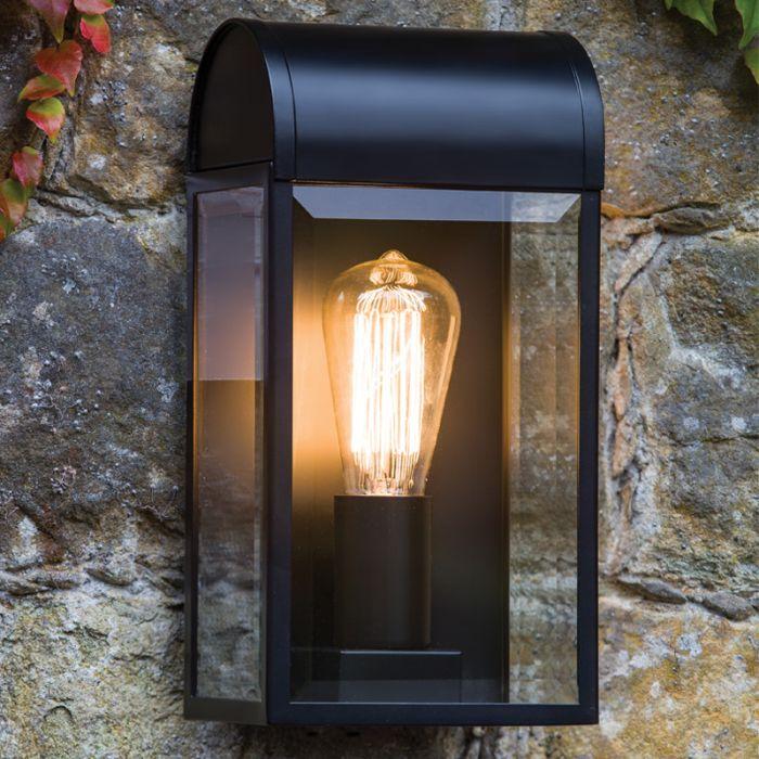 Astro Newbury Half Lantern Outdoor Wall Light