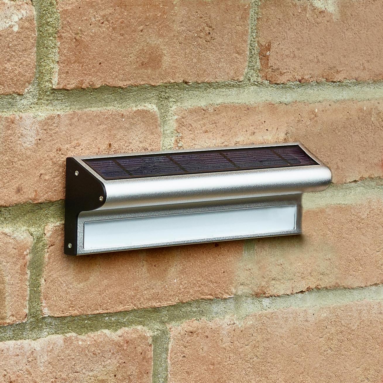Solarcentre kensington solar led stainless steel outdoor wall light solarcentre kensington solar led stainless steel outdoor wall light lighting direct aloadofball Images