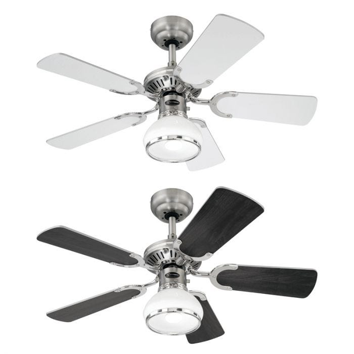 Westinghouse Princess Radiance II Ceiling Fan with Light