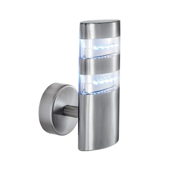 Searchlight Stainless Steel LED Outdoor Wall Light
