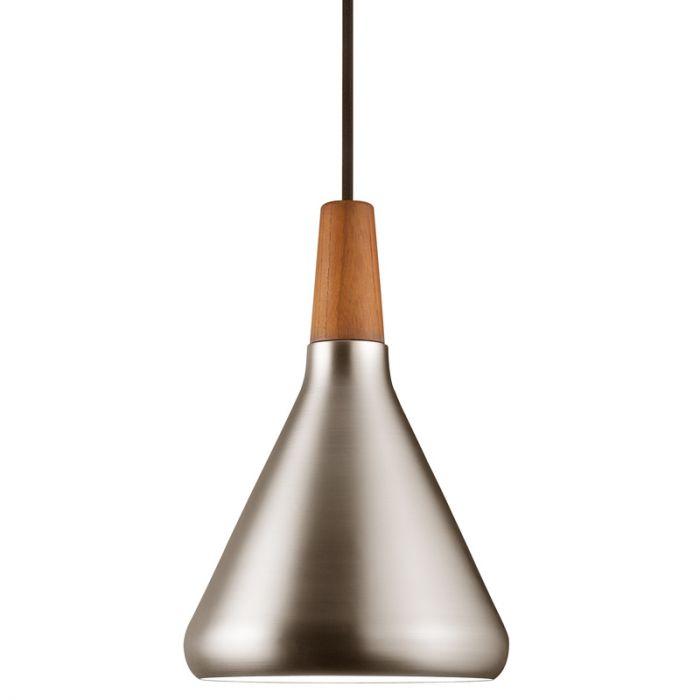 Nordlux Float 18 Ceiling Pendant Light - Brushed Steel
