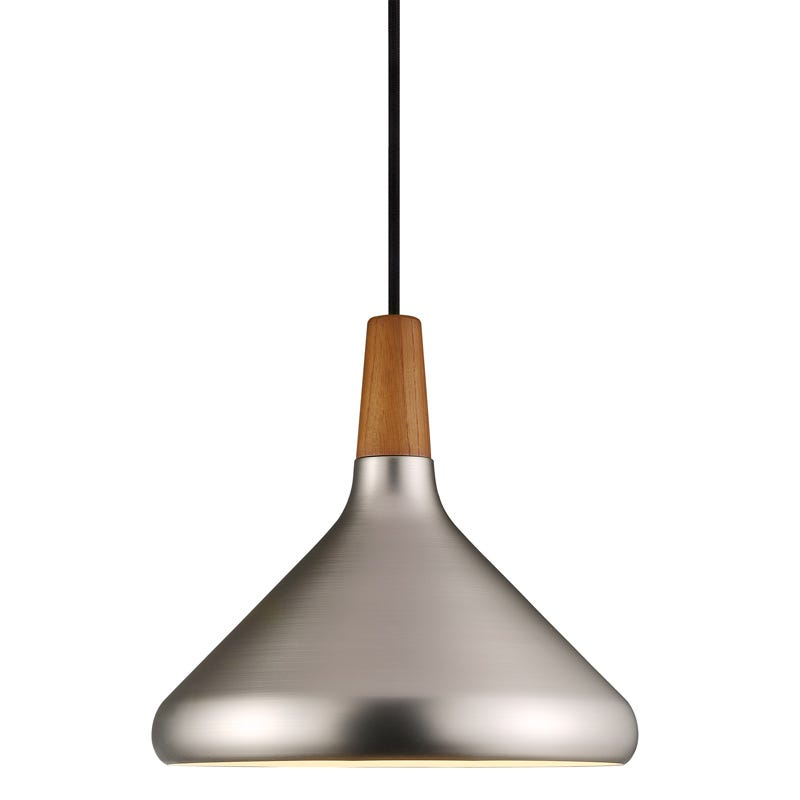 DFTP Float 27 Ceiling Pendant Light - Brushed Steel