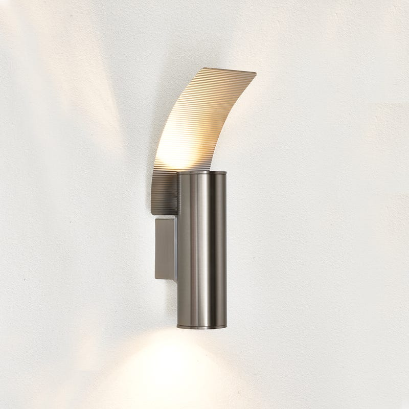 Eglo Riga LED Twin Outdoor Wall Light with Reflector