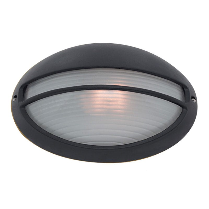Searchlight Eyelid Oval Outdoor Wall Light