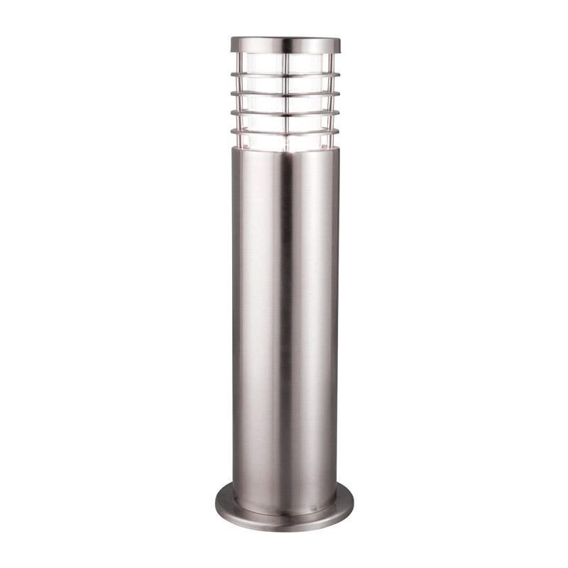Searchlight Saturn Stainless Steel Outdoor Post Light