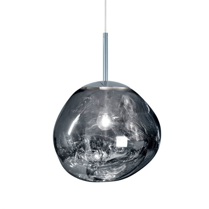 Tom Dixon Mini Melt Ceiling Pendant Light - Polished Chrome